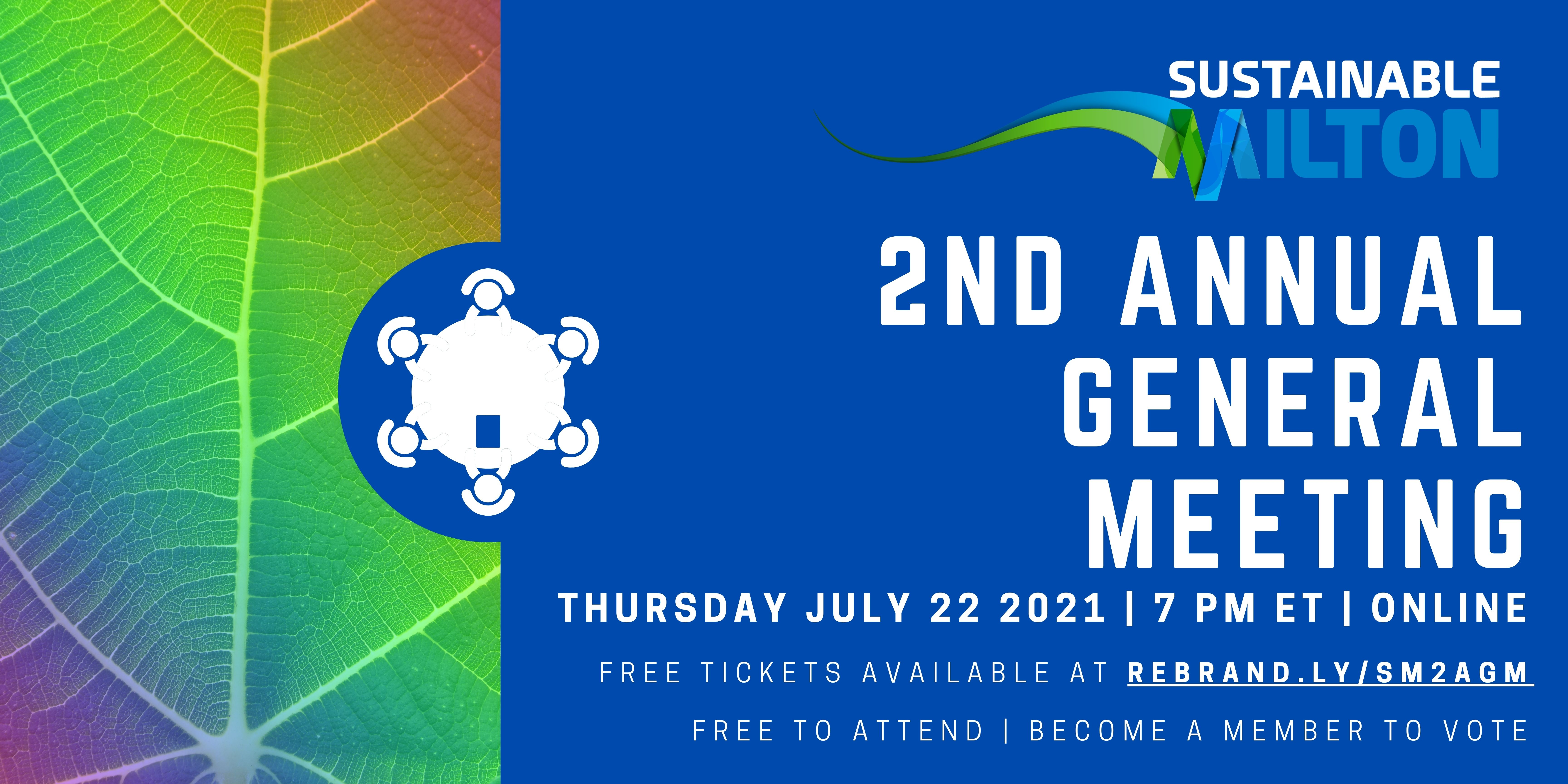 Get Tickets to Our Upcoming AGM Today!